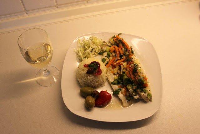 Fisch kochen
