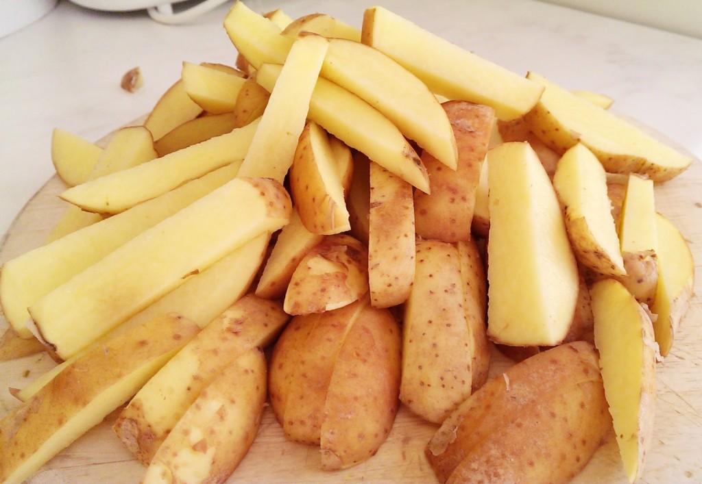 Kartoffeln mit Pelle