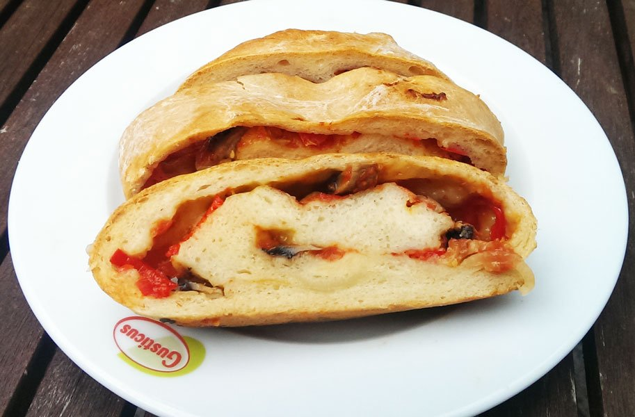 Pizzabrot selber machen