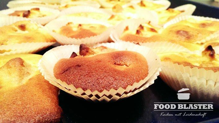 Leckere Muffins mit Apfel