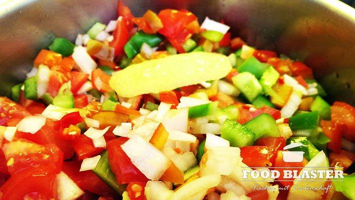 Salsa kochen