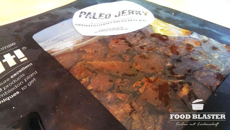 Rindfleisch von Paleo Jerky