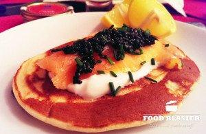 Rezept für Blinis mit Kaviar