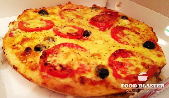 Pizza in Hamburger Straße