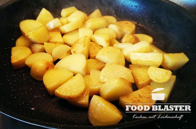 Kartoffel für Spargel