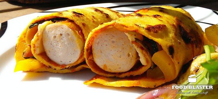 Pfannkuchen mit Maismehl zubereiten