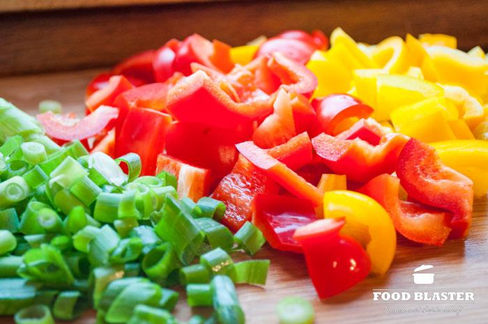 Gemüse in Curry