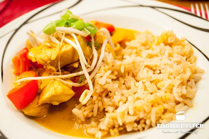 Hähnchencurry kochen