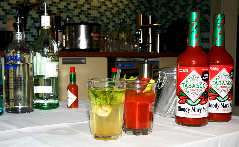 Cocktails mit Tabasco