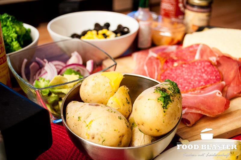 raclette-zutaten