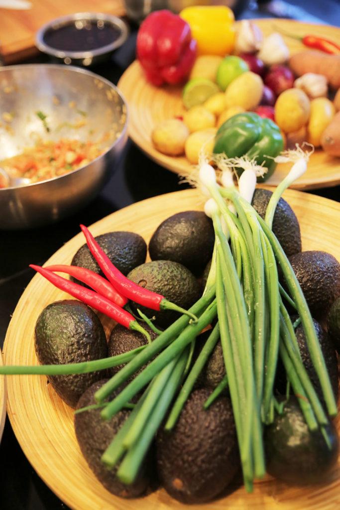 Zutaten für chilenische Küche