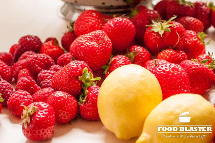 Früchte für Marmelade